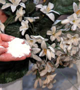 limpa flores artificiais