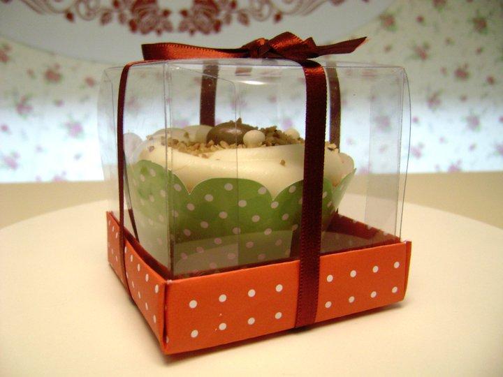 cupcakes na caixinha