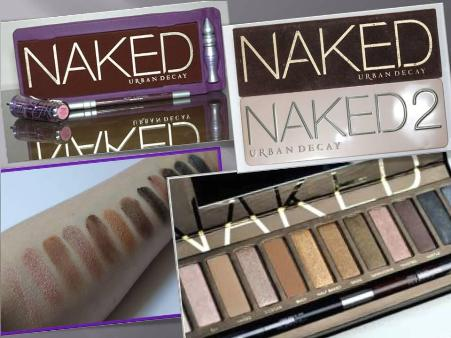 Paleta de Sombra Naked